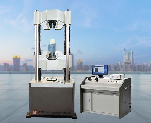 辰达公司完美配套电子万能试验机试验室