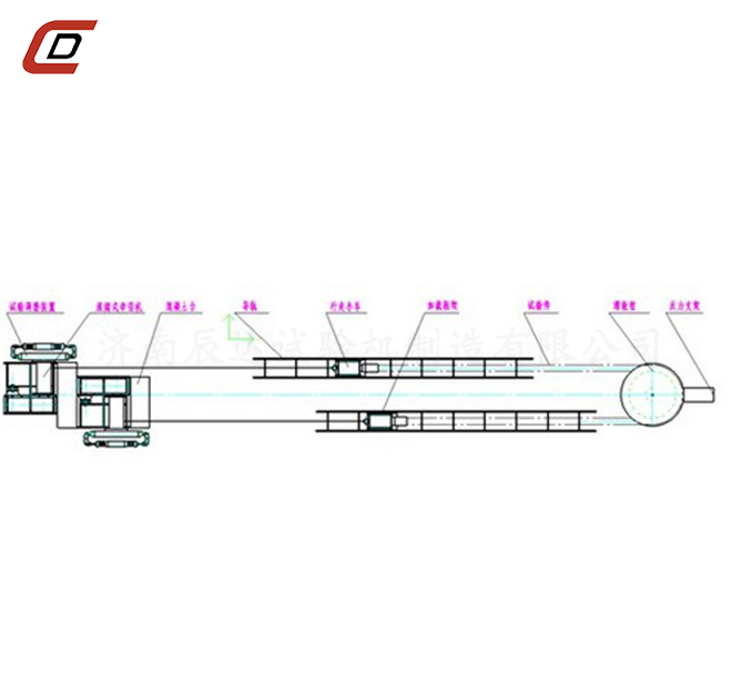 300kN双牵引卧式拉力试验机