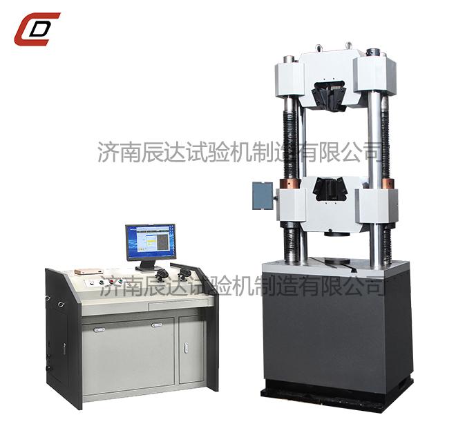 WEW-300B微机屏显式触摸屏屏控制液压万能试验机